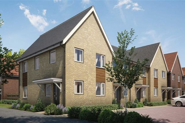 Thumbnail End terrace house for sale in Eagle Way, Hampton Centre, Peterborough