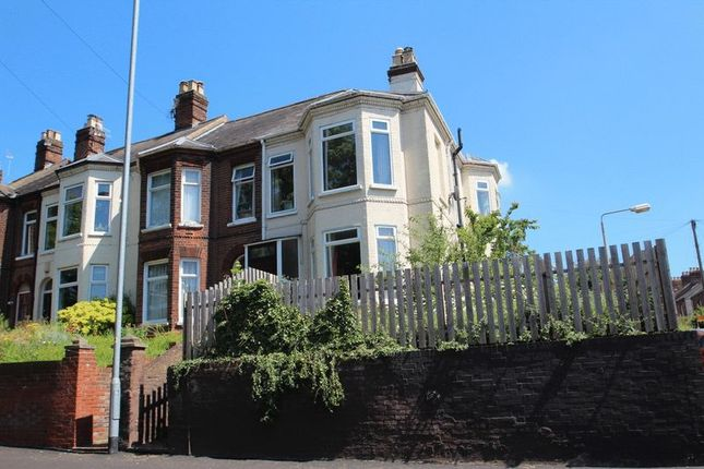 Thumbnail End terrace house for sale in St. Martins Road, Norwich