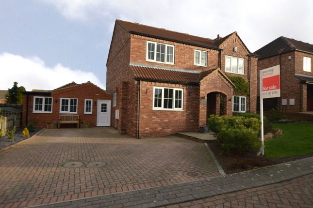 Thumbnail Detached house for sale in Westfield Gardens, Kippax, Leeds