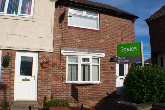 Thumbnail Terraced house to rent in Appleby Square, Sunderland