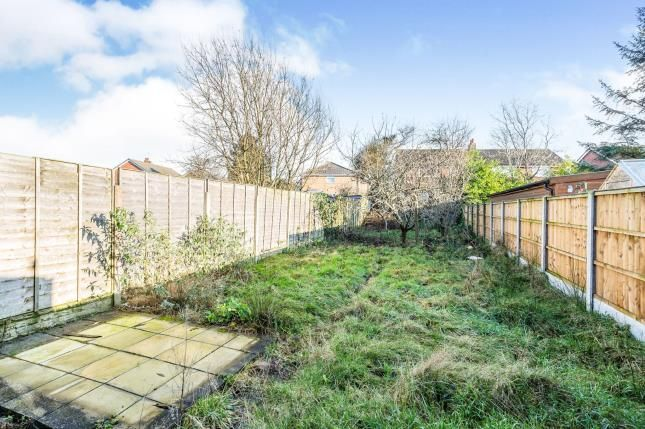 Garden of Stanley Avenue, Farington, Leyland PR25