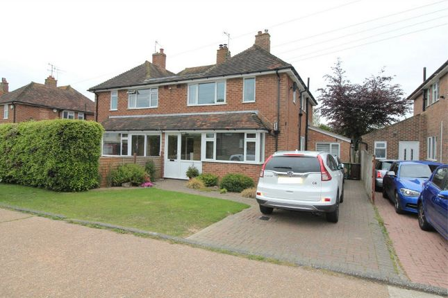 Thumbnail Semi-detached house for sale in Glenthorn Road, Bexhill On Sea, East Sussex