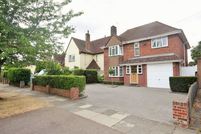 Thumbnail Detached house for sale in Queens Road, Lexden, Colchester, Essex