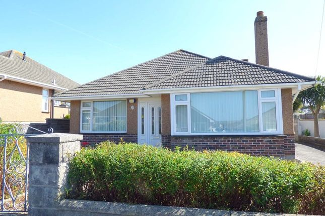 Thumbnail Detached bungalow for sale in Furzehatt Park Road, Plymstock, Plymouth, 8Lf.