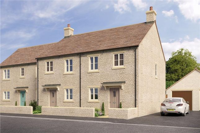 """Thumbnail 3 bedroom mews house for sale in """"Sherston"""" at Quercus Road, Tetbury"""