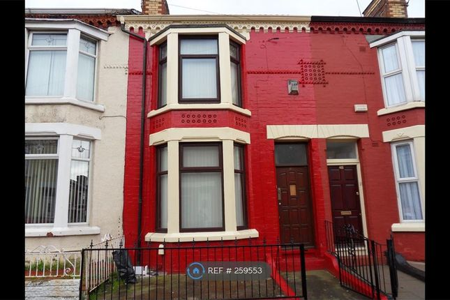 Thumbnail Terraced house to rent in Benedict Street, Liverpool