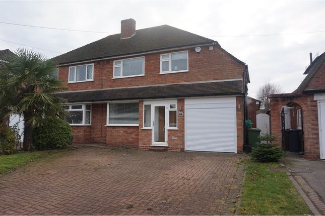 Thumbnail Semi-detached house to rent in Willow Road, Solihull