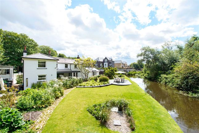 Thumbnail Detached house for sale in Coppermill Lock, Canal Side, Harefield, Uxbridge