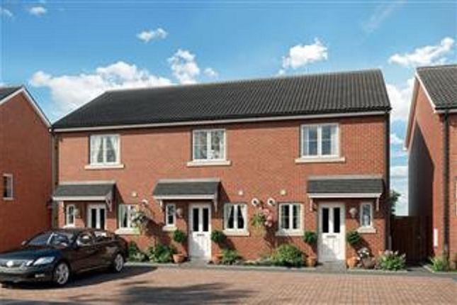 Thumbnail Terraced house for sale in Portland Way, Off Bramford Road, Great Blakenham, Suffolk