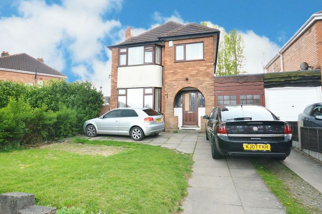 Thumbnail Detached house for sale in Coniston Avenue, Solihull