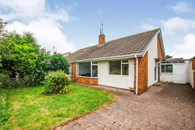 Thumbnail Bungalow for sale in Woodburn Square, Whitley Bay, Tyne And Wear