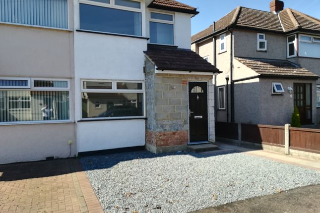 Thumbnail Semi-detached house to rent in Lancaster Drive, Hornchurch