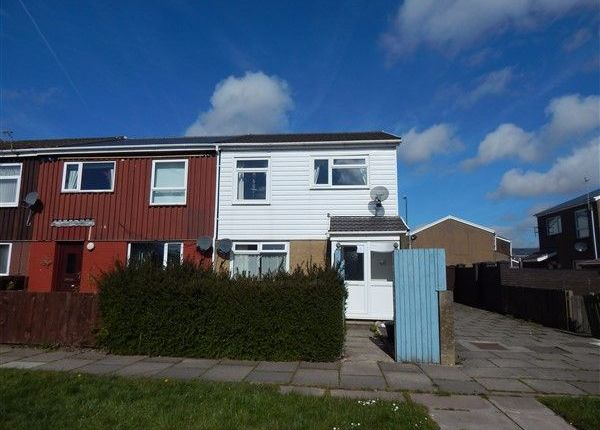 Thumbnail End terrace house for sale in Roundhouse Close, Nantyglo