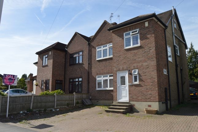 Thumbnail Semi-detached house for sale in Gubbins Lane, Harold Wood, Romford