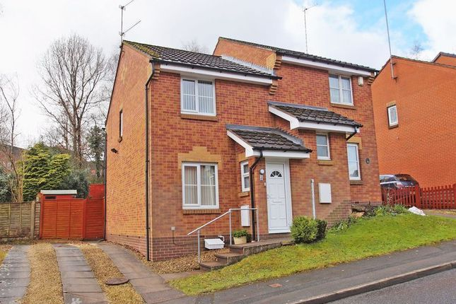 Thumbnail Semi-detached house for sale in Ellerdene Close, Headless Cross, Redditch