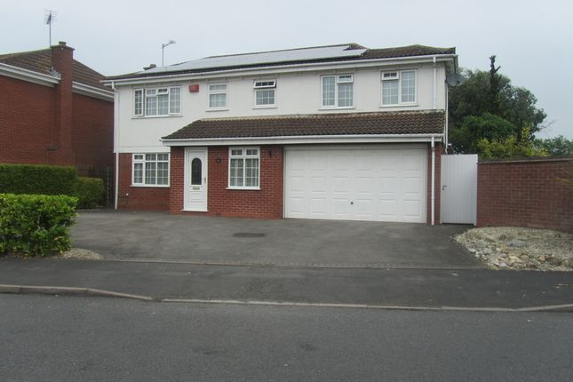 Thumbnail Detached house for sale in Wadebridge Drive, Nuneaton