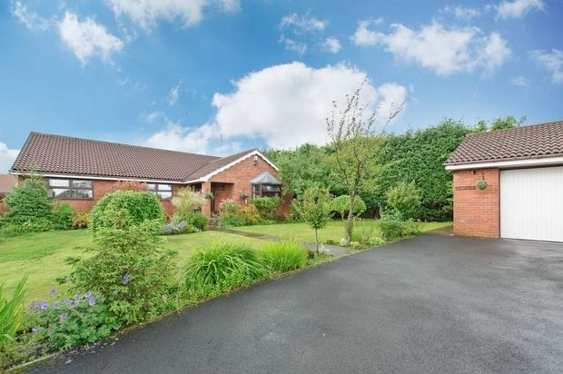 Thumbnail Detached bungalow for sale in Upper Passmonds Grove, Rochdale, Lancashire