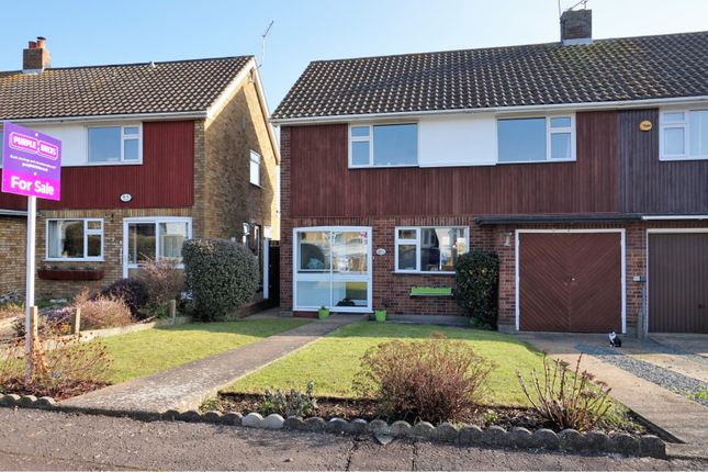 Thumbnail Semi-detached house for sale in Roding View, Ongar