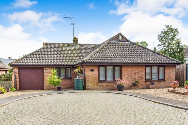 Thumbnail Detached bungalow for sale in The Orchard, Potterspury, Towcester