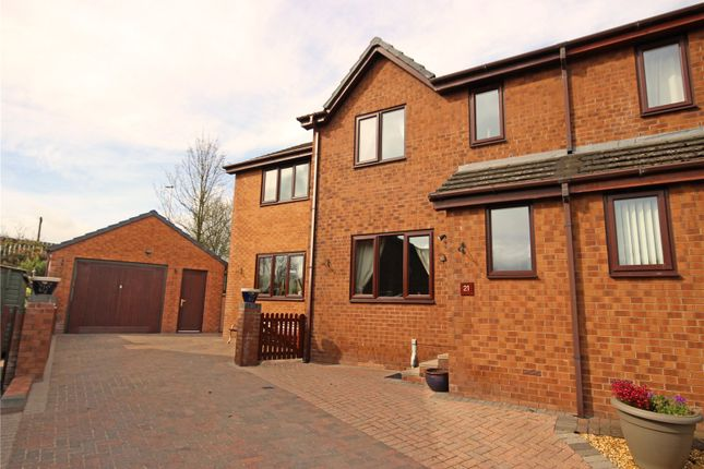 4 bed semi-detached house for sale in 21 Castletown Drive, Penrith, Cumbria