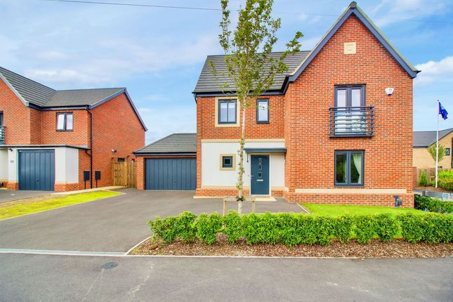 Thumbnail Detached house for sale in Ashton Green Road, Leicester