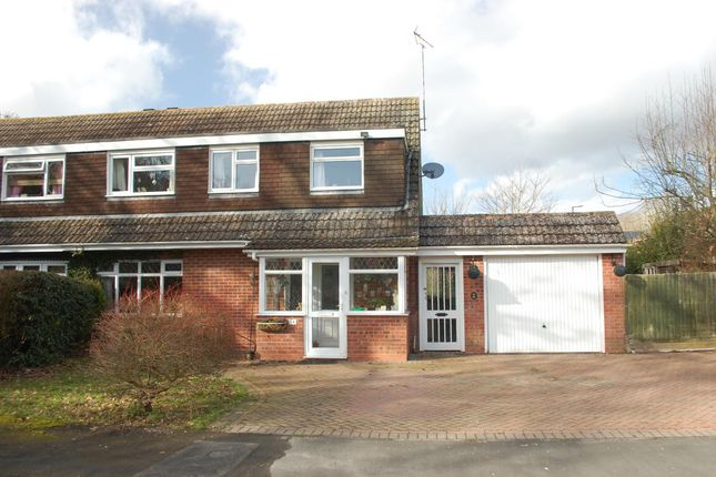Thumbnail Semi-detached house for sale in Fairwater Crescent, Alcester