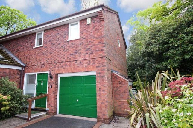 Thumbnail Semi-detached house for sale in Holly Road North, Wilmslow