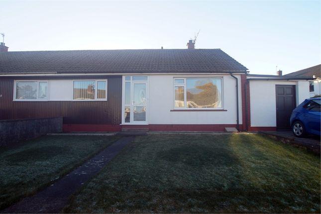 Thumbnail Semi-detached bungalow for sale in Wasdale Park, Seascale, Cumbria