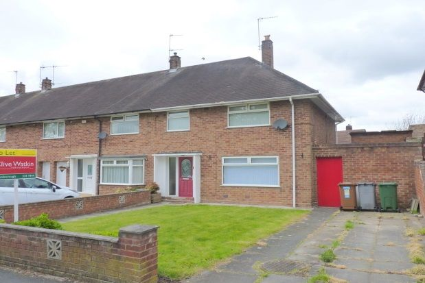 Thumbnail End terrace house to rent in Kingsley Avenue, Eastham, Wirral