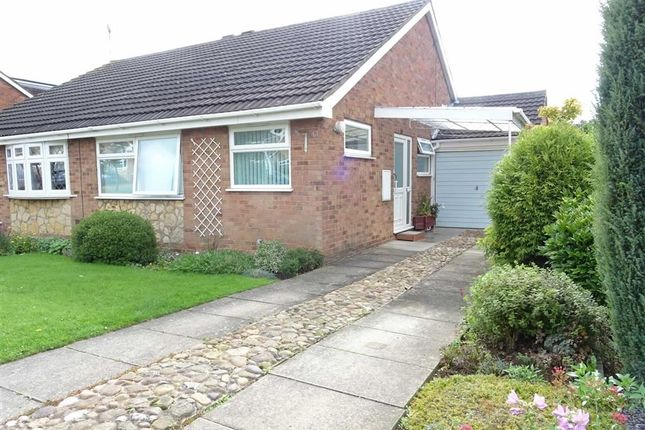 Thumbnail Semi-detached bungalow to rent in Balliol Road, Burbage, Hinckley