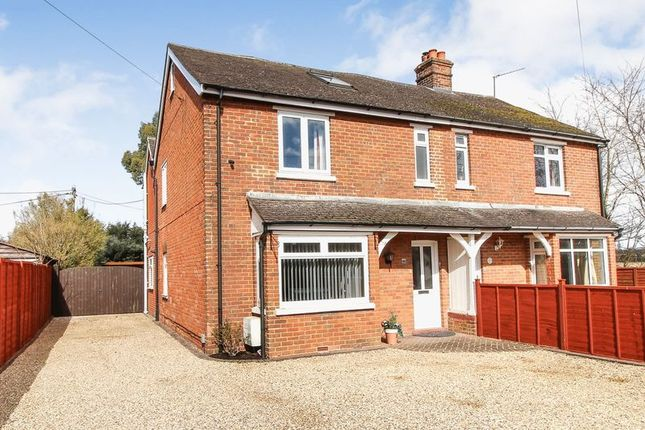 Thumbnail Semi-detached house for sale in London Road, Benham Hill, Thatcham
