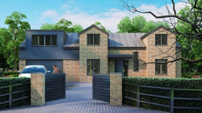 Thumbnail Detached house for sale in Runnymede Road, Darras Hall, Ponteland