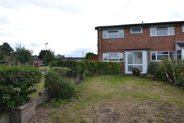 Thumbnail End terrace house to rent in Earlswood Court, Handsworth Wood, Birmingham