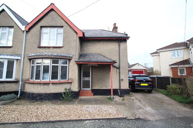 Semi-detached house for sale in The Crescent, Stowmarket