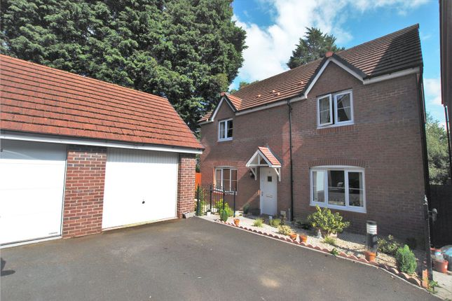 Thumbnail Detached house for sale in Clos Hendre Gadno, Old St Mellons, Cardiff