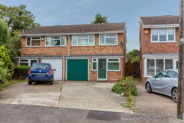 Thumbnail 3 bed semi-detached house for sale in Little Aston Road, Romford, Greater London