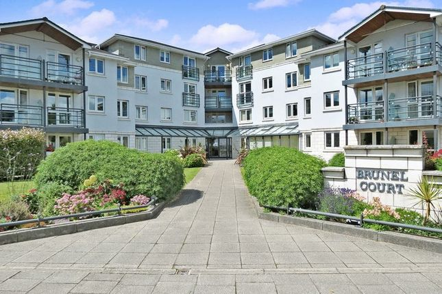 Thumbnail Flat for sale in Brunel Court, Portishead