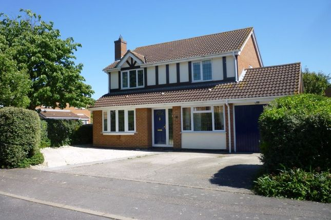 Thumbnail Detached house to rent in Stukeley Meadows, Huntingdon, Cambridgeshire