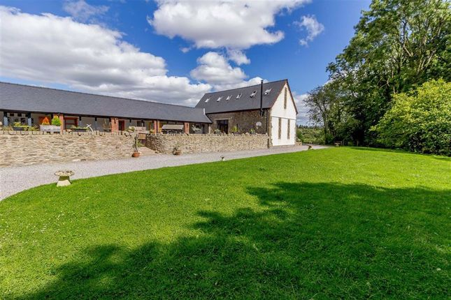 Thumbnail Detached house for sale in Llangybi, Usk, Monmouthshire