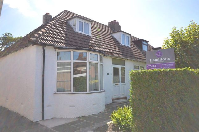 Thumbnail Semi-detached bungalow to rent in Jean Avenue, Pennington, Leigh, Greater Manchester.