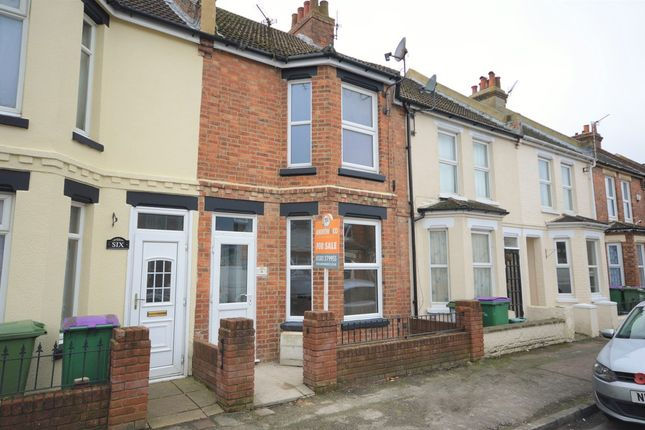Thumbnail Terraced house for sale in Richmond Street, Cheriton, Folkestone