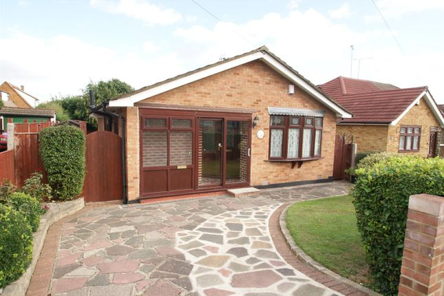 Thumbnail Detached bungalow for sale in Sairard Gardens, Eastwood, Leigh-On-Sea