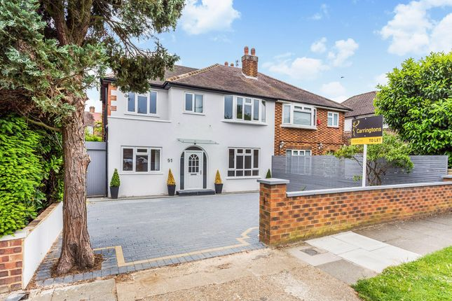 Thumbnail Semi-detached house to rent in Robin Hood Lane, London