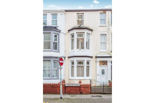 Thumbnail Terraced house for sale in Adelaide Street, Blackpool