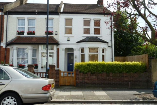 Thumbnail End terrace house to rent in Myrtledene Road, Abbey Wood, London