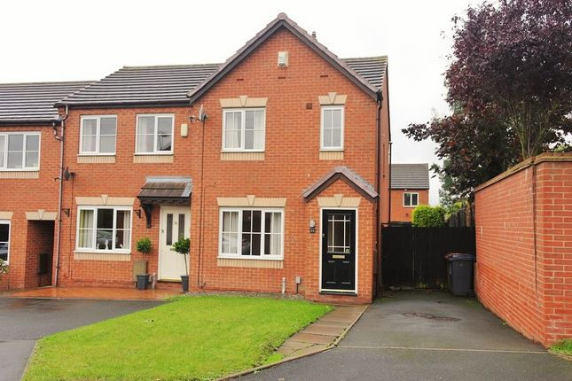 Thumbnail End terrace house to rent in Two Oaks Avenue, Burntwood