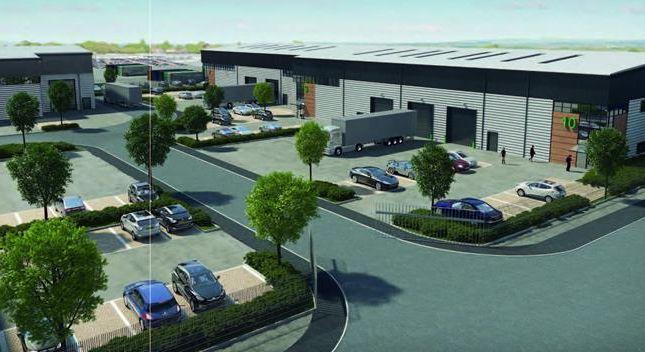 Thumbnail Light industrial to let in Unit 9, Egham Business Park, Ten Acre Lane, Egham, Surrey