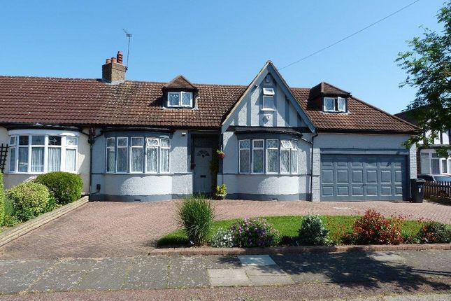 Thumbnail Detached bungalow for sale in Manorway, Enfield