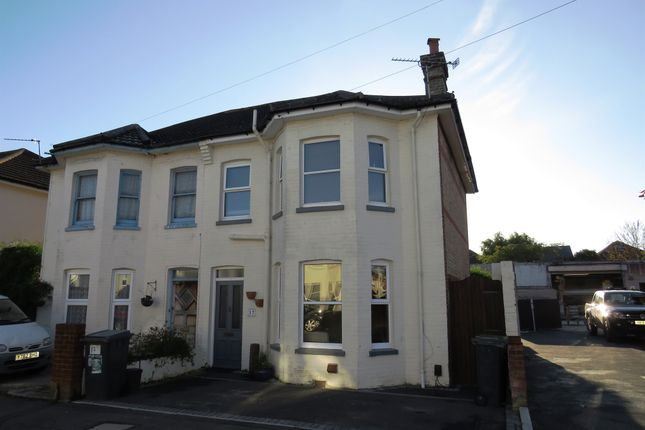 Thumbnail Semi-detached house for sale in Gloucester Road, Boscombe, Bournemouth