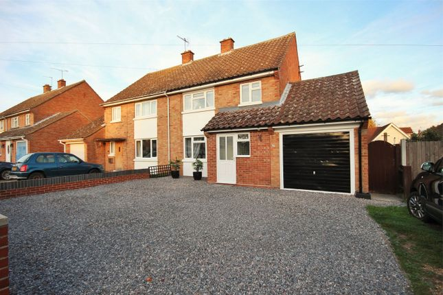 Thumbnail Semi-detached house for sale in Mary Warner Road, Ardleigh, Colchester, Essex